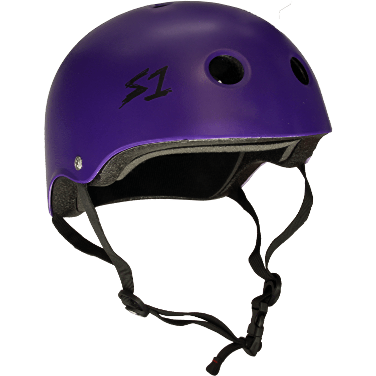 S1 Lifer Multi Impact Helmet- Matte Purple