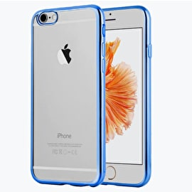 Aero Metallic Bumper Phone Case - Blue