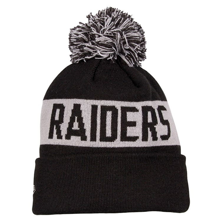 New Era NFL Team Tonal Knit Beanie - Oakland Raiders
