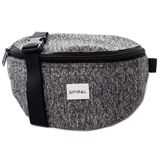 Spiral Harvard Bum Bag - Jersey Grey Marl
