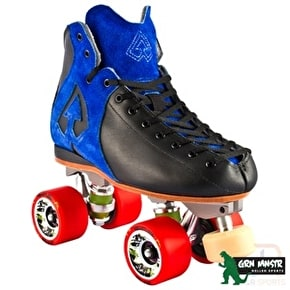 Antik AR1 Storm Roller Derby Skate Package Blue