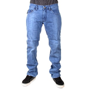 Urban Kreation Skinny Fit Kevlar lined Jeans - Blue