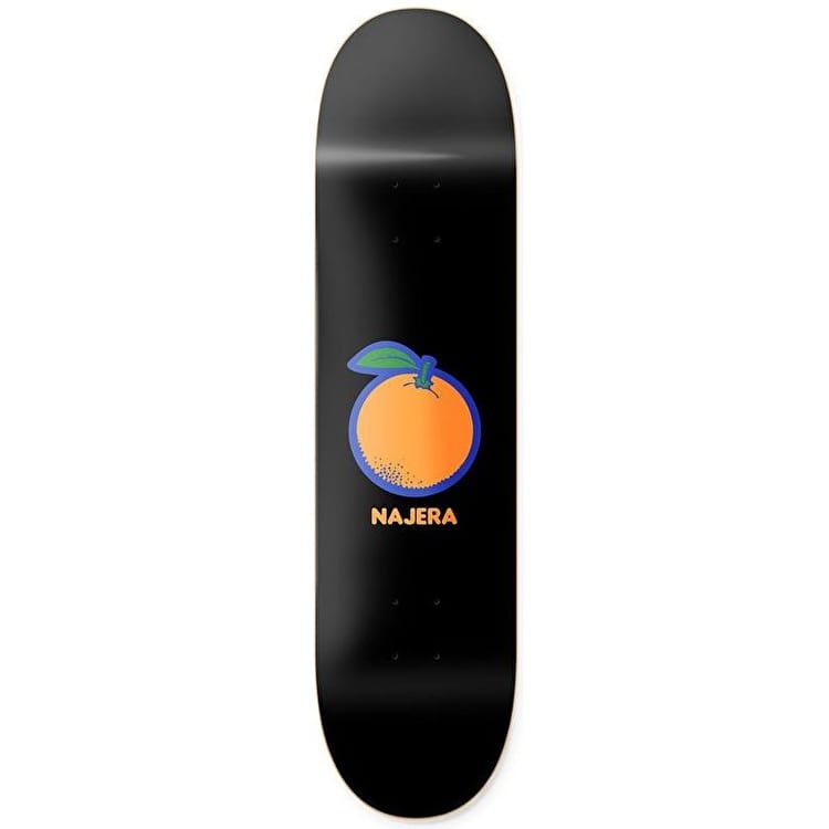 Primitive Scratch And Sniff Orange Skateboard Deck - Najera 8.5""