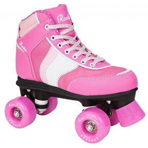 B-Stock Rookie Forever Quad Roller Skates-Pink - UK 2 (Box Damage)