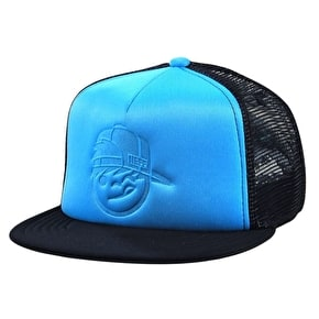 Neff Kenny Foam Trucker Kids Cap - Cyan/Black