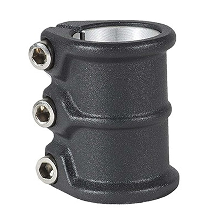 District HT-Series Triple Scooter Collar Clamp - Asfalt