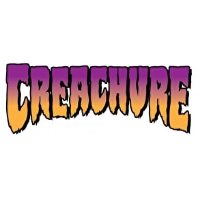 Creature Skateboards Sticker - Grey Market