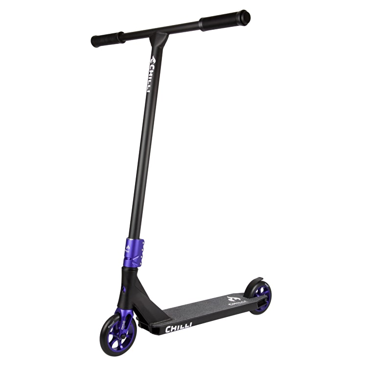 Chilli Pro C7 Complete Scooter - Blue/Black