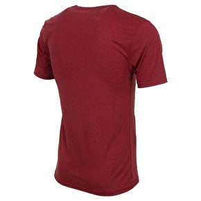 Fox Side Seca T-Shirt - Heather Red