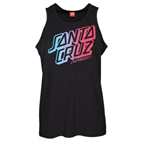 Santa Cruz Stack Fade Tank Top - Black