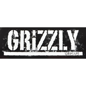 Grizzly Smoke Stamp Skateboard Sticker