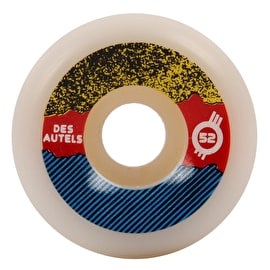 Force Radical Pro Des Autels Skateboard Wheels 52mm