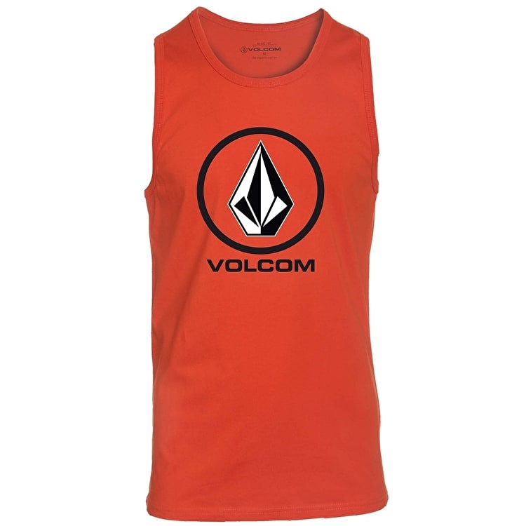 Volcom Kids Circle Stone Tank Top - Rock Red