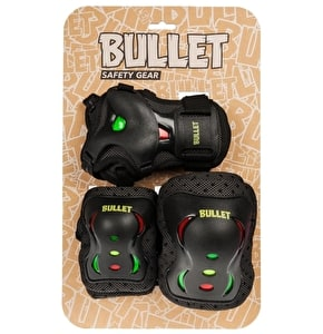 Bullet Junior Triple Padset - Rasta