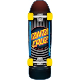 Santa Cruz Style Dot Street Complete Cruiser - Black/Yellow 31.7
