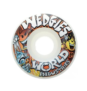 World Industries Wedgies 54mm Skateboard Wheels (B-Stock)