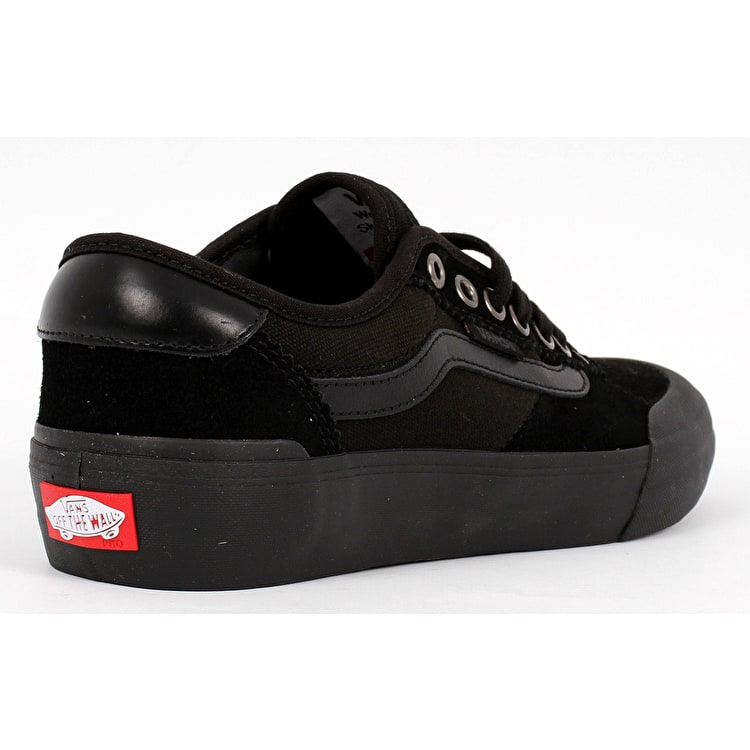Vans Chima Pro 2 (Suede) Skate Shoes - Blackout