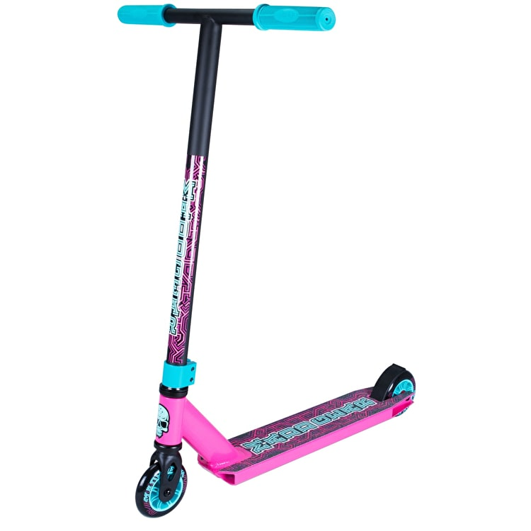 Madd Kick Pro X Complete Scooter - Pink/Teal
