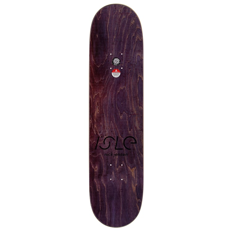 Isle Grid Series Skateboard Deck - Jensen 8""
