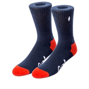 Girl Micro OG Socks - Navy/Red