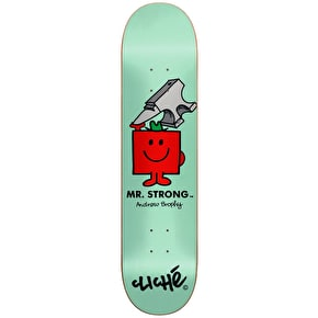 Cliché x Mr Men R7 Skateboard Deck - Mr Strong/Brophy 8.5