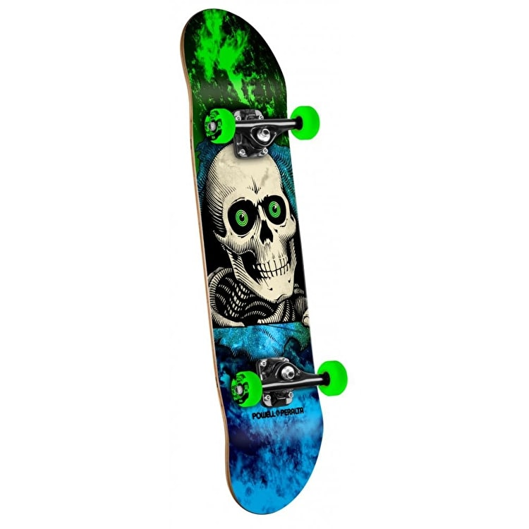 Powell Peralta Mini Skateboard - Storm Ripper Green 7""