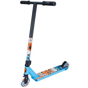 Madd Kick Nuked Pro Complete Scooter - Sky Blue/Orange