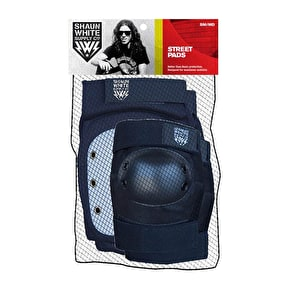 Shaun White Street Knee and Elbow Padset - Black/White