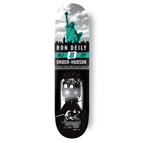 Zoo York Skateboard Deck - Under The Hudson Deily 8.25