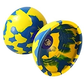 Juggle Dream Jester Diabolo Starter Pack - Blue/ Yellow