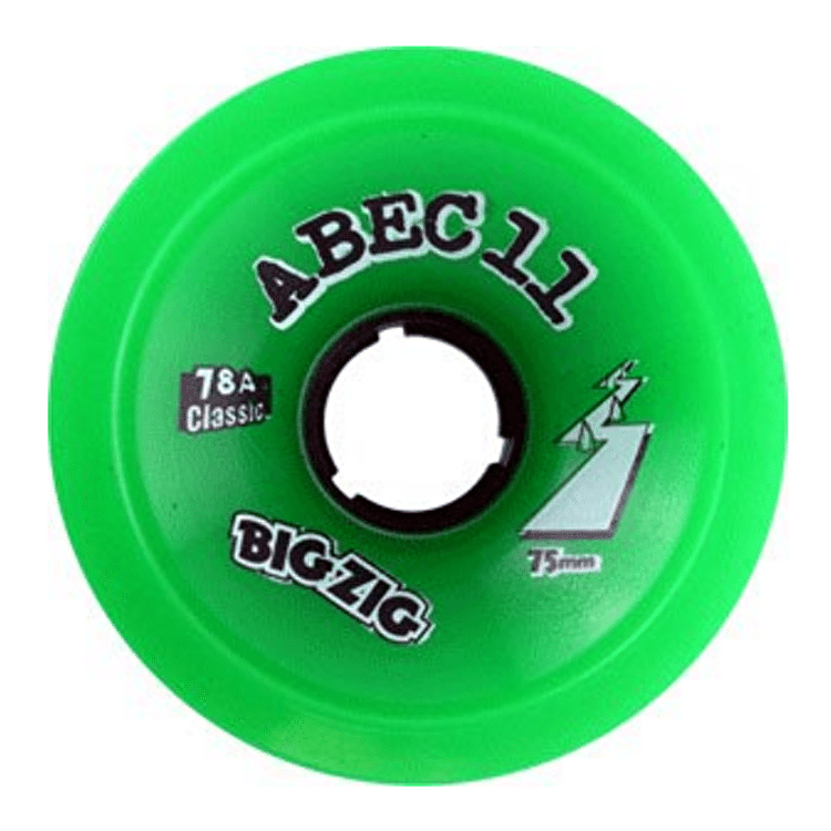 Abec 11 Classic Bigzigs 75mm Longboard Wheels (Pack of 4)