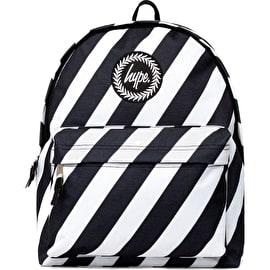 Hype Zebra Crossing Backpack - Black/White
