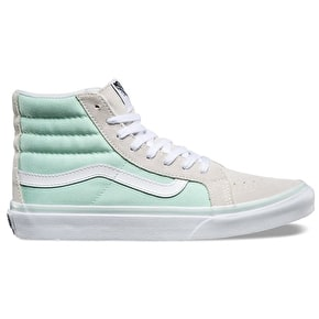 Vans Sk8-Hi Slim Shoes - Bay/True White