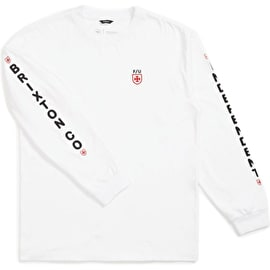 Brixton Frame STT Long Sleeve T Shirt - White