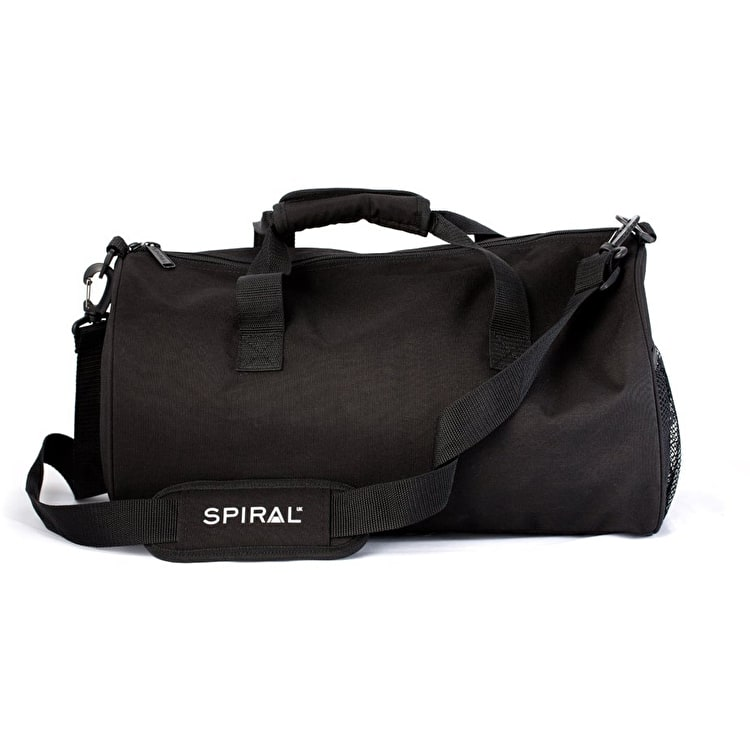 Spiral Duffel Bag - Blackout