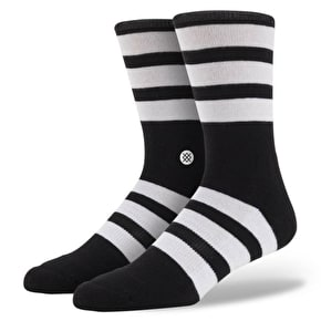 Stance Uncommon Solids - White Out - Black