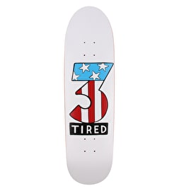 Tired Number Three Skateboard Deck - 8.75