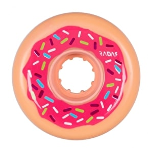 Radar Donut Roller Derby Wheels - Pink 62mm 78a