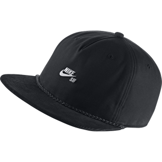Nike SB Waxed Canvas Pro Cap - Black/Cool Grey