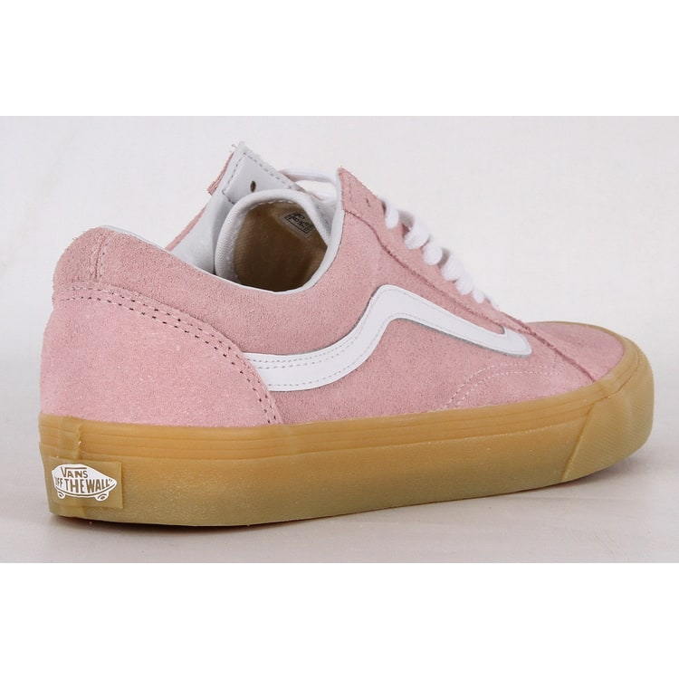 Vans Old Skool Skate Shoes - (Double Light Gum) Chalk Pink