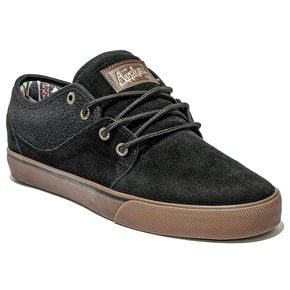 Globe Mahalo Shoes - Black/Tobacco Gum