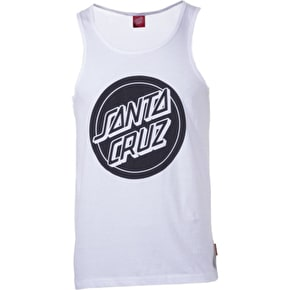 Santa Cruz Reverse Dot Vest - White