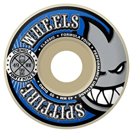 Spitfire Formula Forty Niners 99D Skateboard Wheels - Blue 49mm (Pack of 4)