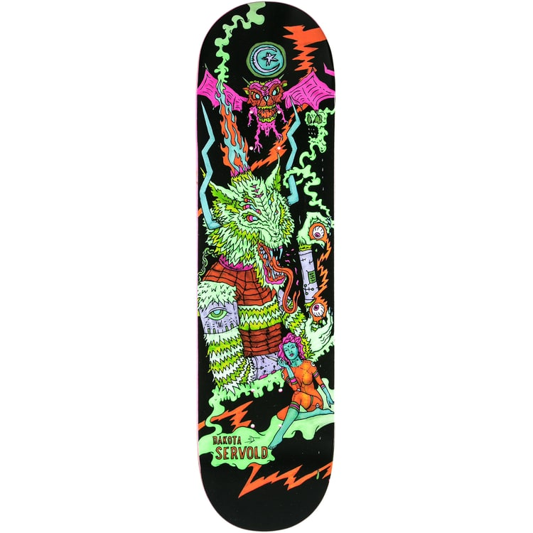 Foundation Servold Bonzai Beast Skateboard Deck - 8.25""