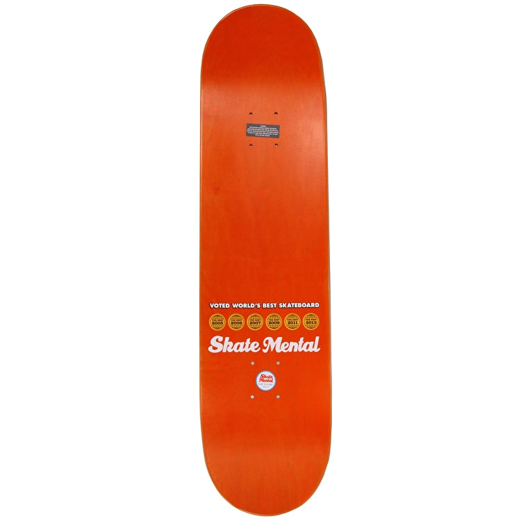 Skate Mental Anderson Name Skateboard Deck 8.25""