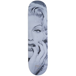 Primitive Close Up Skateboard Deck - Black 8.125