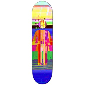 Girl Glitch Mode Skateboard Deck - Biebel 8