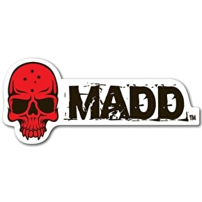 MGP MADD Logo Sticker - Red