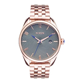 Nixon Bullet Womens Watch - All Rose Gold/Gunmetal