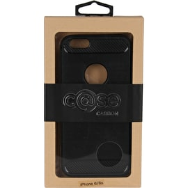Case Brushed Carbon iPhone 6 - Black